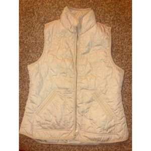Old Navy, Size M, ivory/cream vest